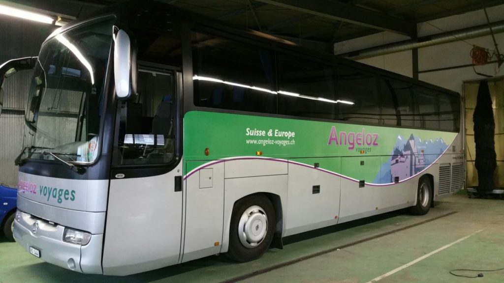 covering bus suisse l art d etre vu